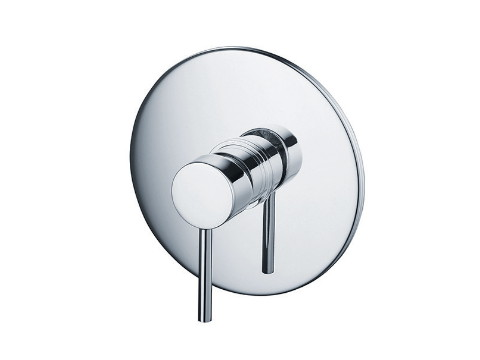 Built-in single-lever bath mixer