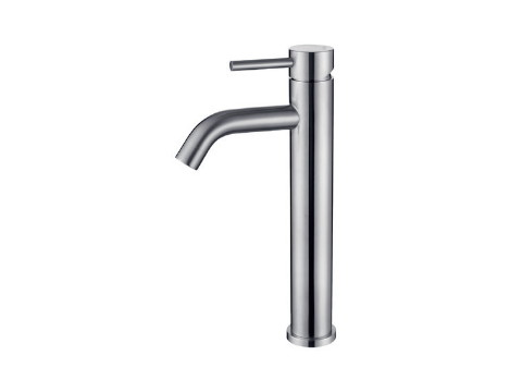 Single-lever tall basin mixer