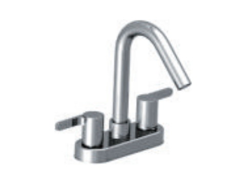 "4"" Two handle basin mixer"
